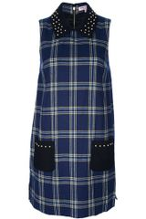 Juicy Couture Plaid Shift Dress - Lyst