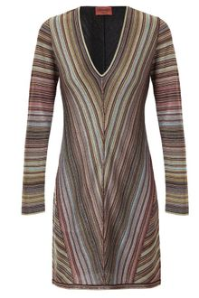 Missoni Knitted Lurex Dress - Lyst