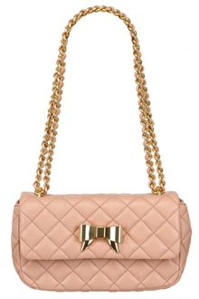 Moschino Cheap&chic Quilted Nappa Bow Shoulder Bag - Lyst