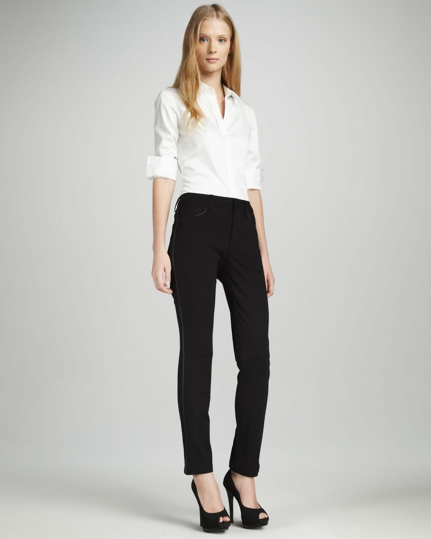 not your daughter 39 s jeans pamela skinny ponte pants petite. Black Bedroom Furniture Sets. Home Design Ideas