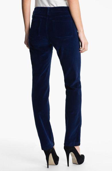 not your daughter 39 s jeans straight leg velvet pants in. Black Bedroom Furniture Sets. Home Design Ideas