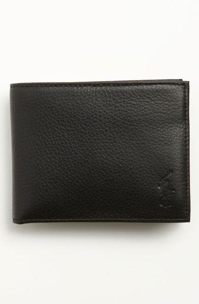 Polo Ralph Lauren Pass Case Wallet In Black For Men Lyst