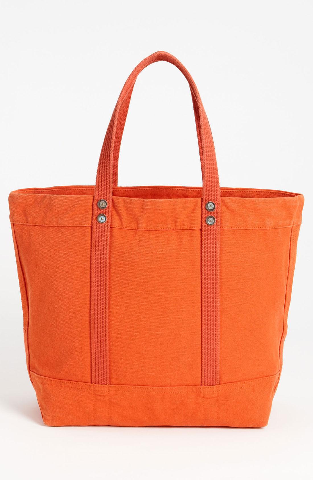 Ralph Lauren Big Pony Canvas Handbag Darkblue Red