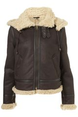 Topshop Flying Jacket - Lyst
