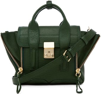 3.1 Phillip Lim Pashli Mini Satchel in Jade - Lyst