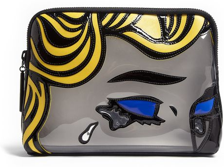 3.1 Phillip Lim The Break Up Patchwork Leather 31 Minute Clutch Bag in Multicolor - Lyst