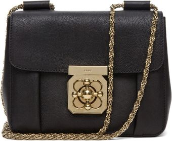 Chloé Elsie Small in Black - Lyst
