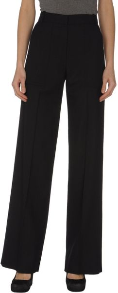 Chloé Formal Trouser in Black (green) - Lyst