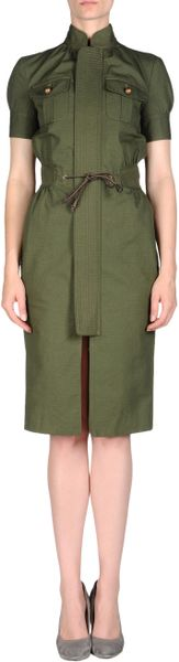 Dsquared² Short Dress in Green