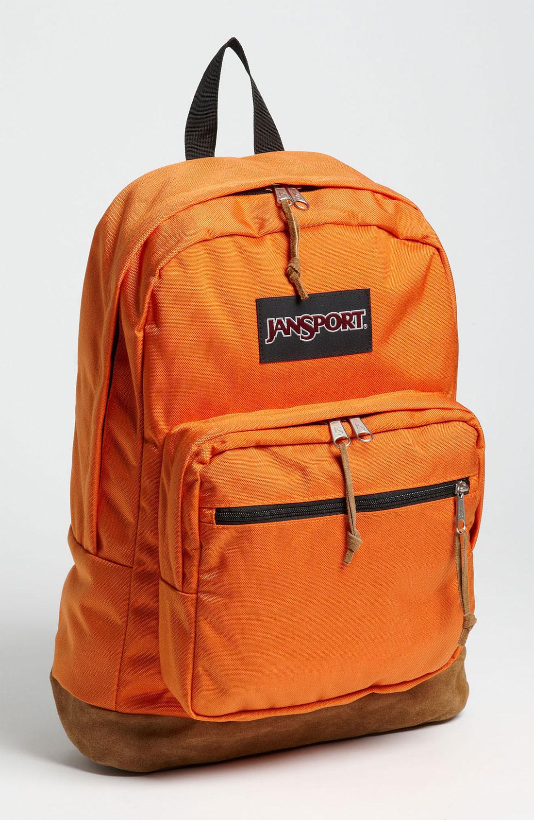 Orange Jansport Backpacks - Crazy Backpacks dbf997b628b9d