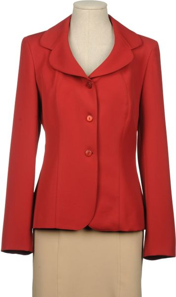 Liu Jo Blazer in Red (beige) - Lyst