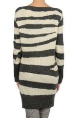 Mcq By Alexander Mcqueen Long Sleeve Jumper in Gray (grey) - Lyst