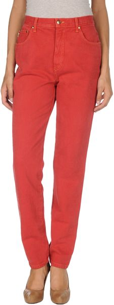Moschino Jeans Denim Trousers - Lyst