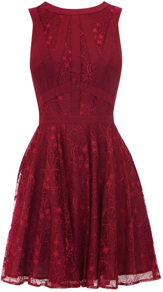 Oasis Gothic Lace Dress - Lyst