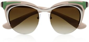 Prada Cat Eye Acetate Sunglasses - Lyst