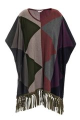 Queene And Belle Delaunay Cape - Lyst