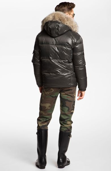 Sam Sam Icon Quilted Goose Down Jacket In Gray For Men