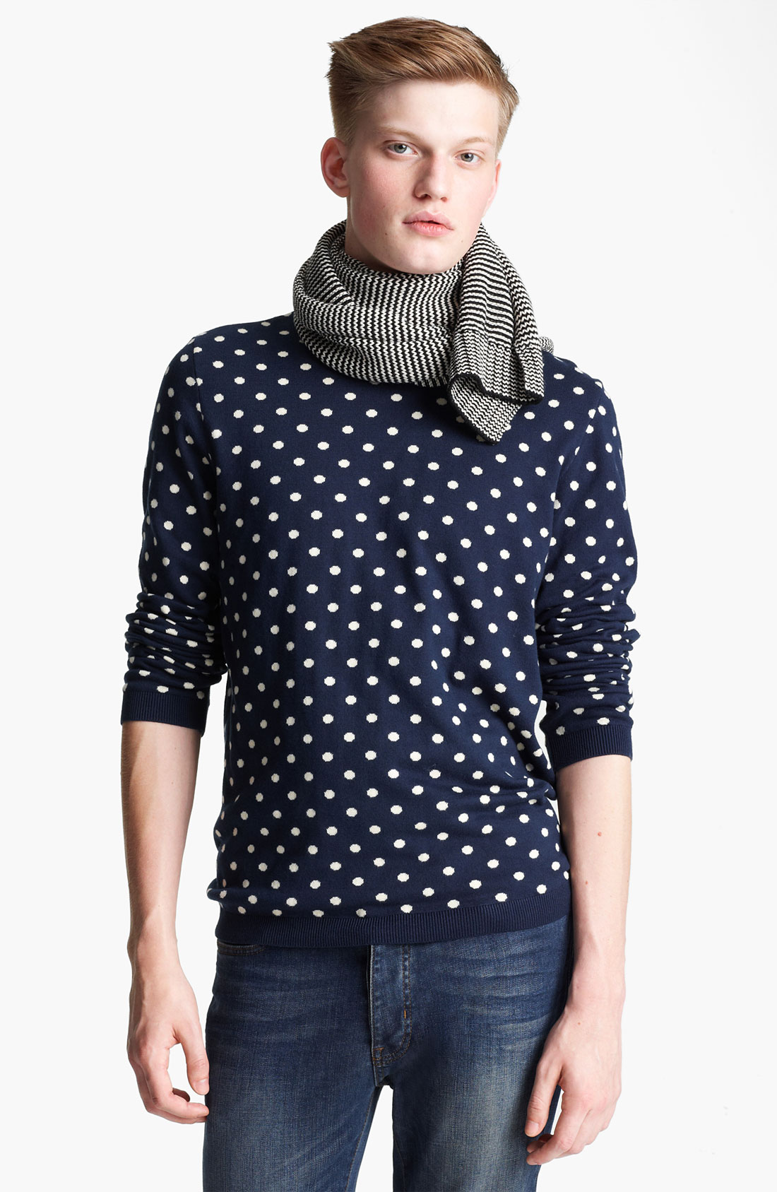 Shop for polka dot sweater online at Target. Free shipping on purchases over $35 and save 5% every day with your Target REDcard.
