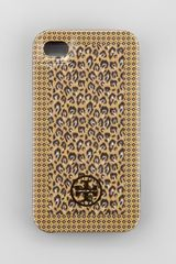 Tory Burch Hardshell Iphone 4 Case - Lyst