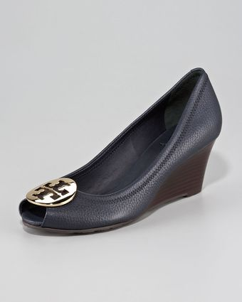 Tory Burch Wedge Pump - Lyst