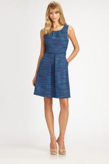 Trina Turk Dress on Trina Turk Electric Colorblock Dress In Blue  Navy Key Lime    Lyst