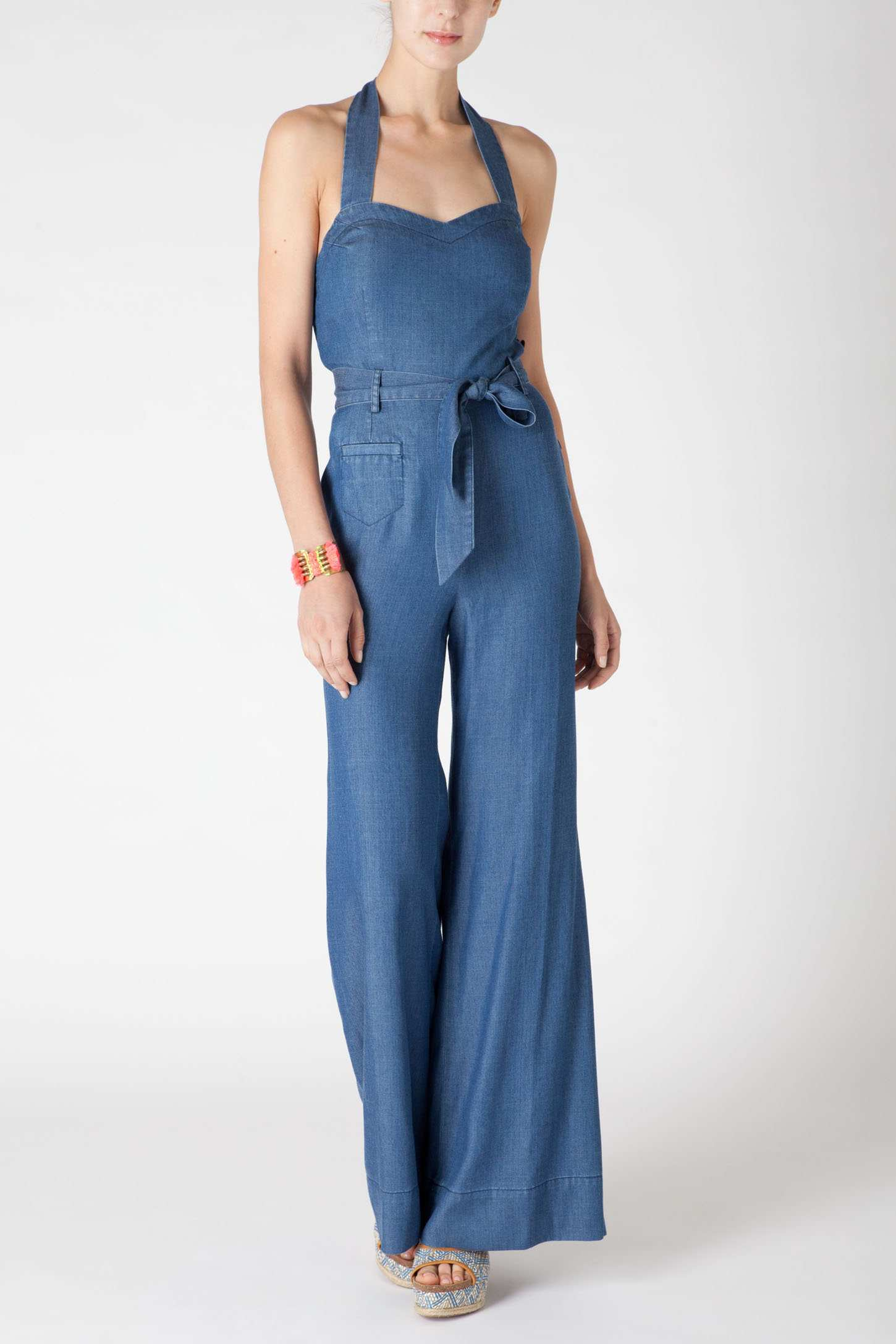 MAXIMGR Women's Loose Long Sleeve Denim Romper High Neck Long Pants Jumpsuit with Ti Shop Best Sellers· Deals of the Day· Fast Shipping· Read Ratings & Reviews/10 (1, reviews).