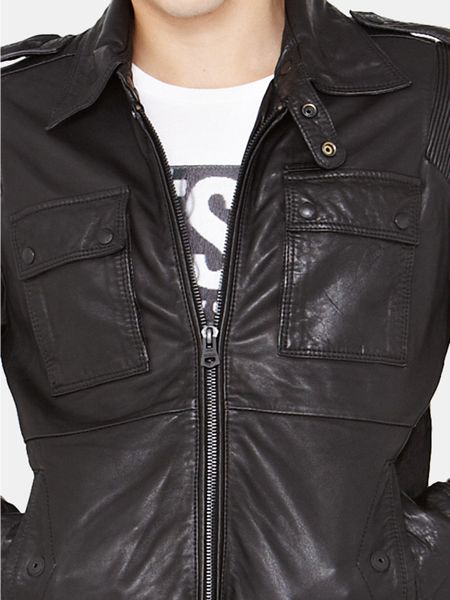Leather Jacket Men Diesel Chaqueta De Cuero Hombre 2010 2011 Chic | HD