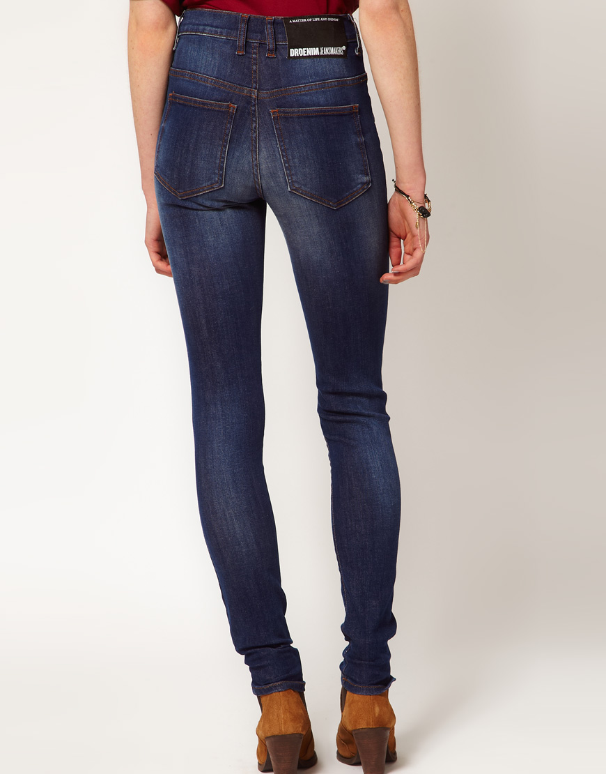Dr denim arlene high waist skinny jeans