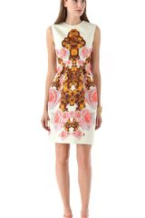 Josh Goot Sleeveless Dress - Lyst