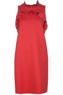 Lanvin Robe Sleeveless Shift Dress - Lyst