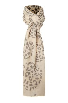 Lola Rose Leopard Heart Print Scarf in Giftbox - Lyst