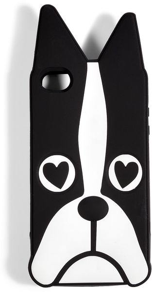 Marc By Marc Jacobs Blackwhite Shorty Iphone 4g Case - Lyst