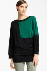 Piazza Sempione Colorblock Knit Sweater - Lyst