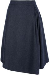 Societe Anonyme Box Pleat Skirt - Lyst