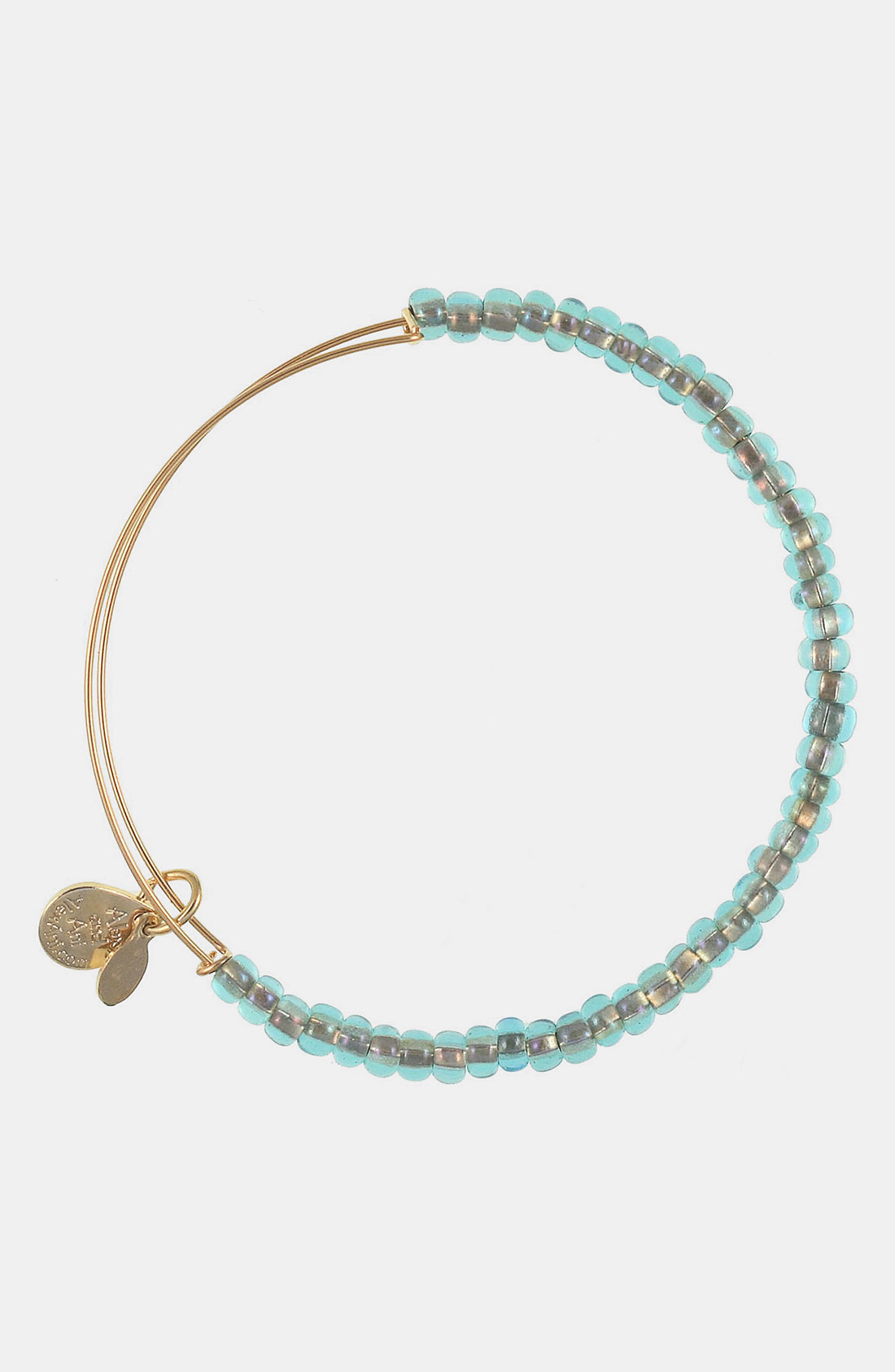 alex and ani shimmering sea bead expandable wire bangle in