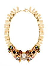 Asos Winged Stone Collar Necklace