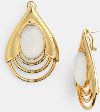 Belle Noel Teardrop Earrings - Lyst