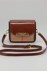 Burberry Check Small Crossbody Bag  - Lyst