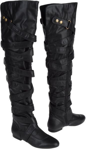 Jeffrey Campbell Boots in Black