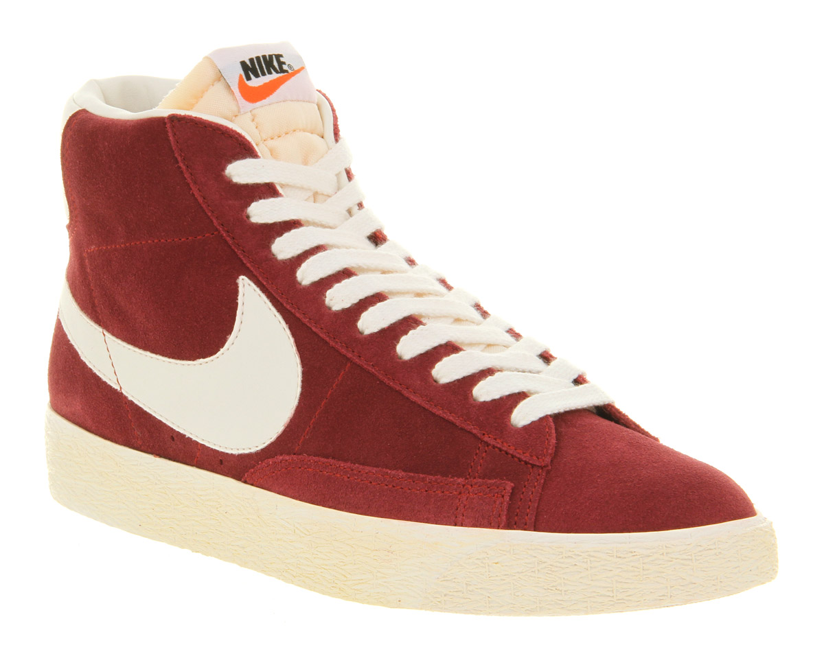 outlet store 653f7 ee446 best price hot nike blazer high womens vintage suede wool gym red orange  652a2 6d472  france gallery. mens nike blazer 46003 2c639