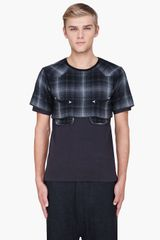 Sasquatchfabrix Black Teds Layered Cutsewn Tshirt - Lyst