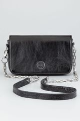 Tory Burch Robinson Convertible Mini Bag  - Lyst
