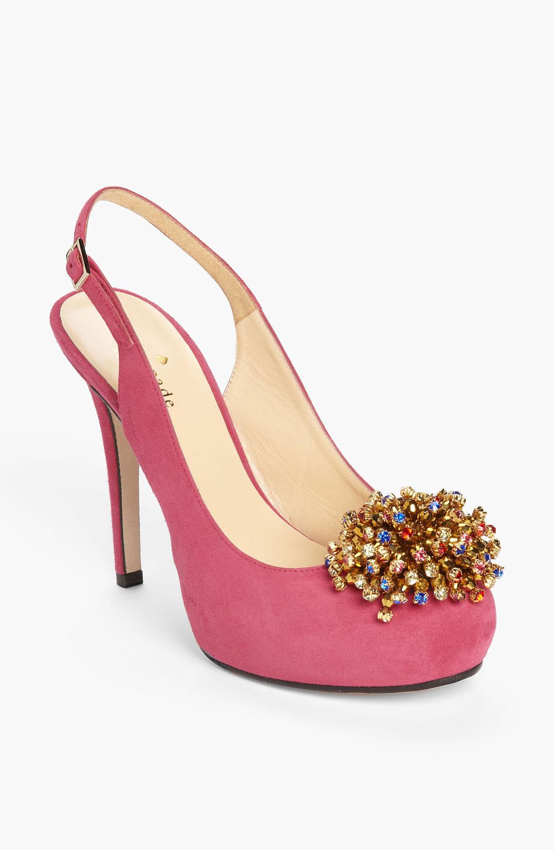 Short Pink Heels
