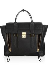 3.1 Phillip Lim Pashli Shark-Embossed Leather Tote - Lyst