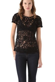 Dallin Chase Mister Lace Top - Lyst
