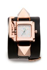 La Mer Collections Cairo Pyramid Wrap Watch - Lyst