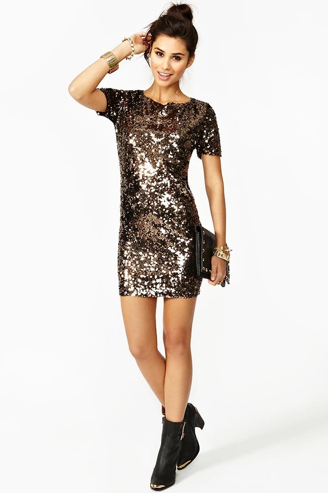 Gold Glitter Dresses Women  Other dresses dressesss 222978c418