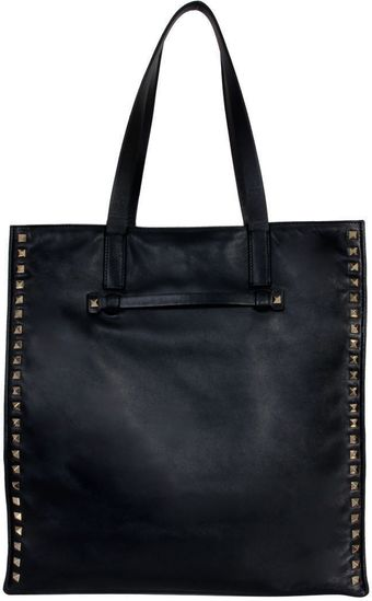 Valentino Studded Shopping Bag - Lyst