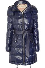 Burberry Brit Quilted Shell Coat - Lyst