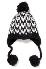 Eugenia Kim Skye Chunky Trooper Hat with Pom - Lyst
